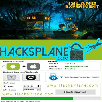 Island Experiment Hack Tool