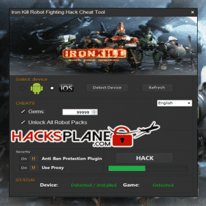 IronKill Robot Fighting Game Hack  Tool
